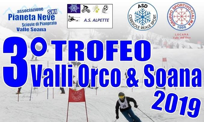 SCI - Domenica a Ceresole prima tappa del Trofeo Valli Orco e Soana