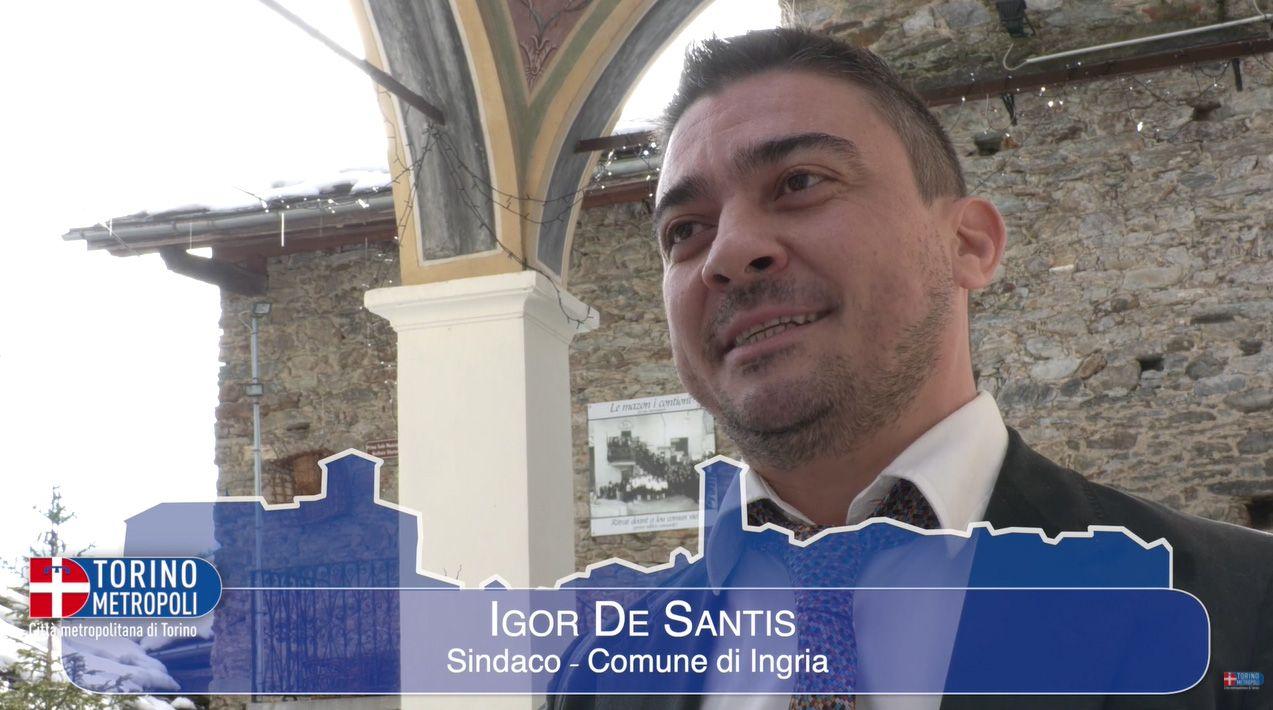 CANAVESE - La voce dei piccoli Comuni con la Città metropolitana: partenza da Ingria - VIDEO