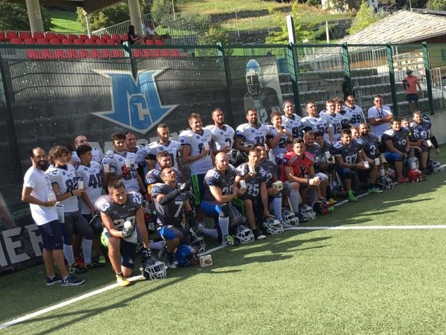 FOOTBALL AMERICANO - I Mastini Canavese di nuovo in azione a Rivarolo per la stagione 2019