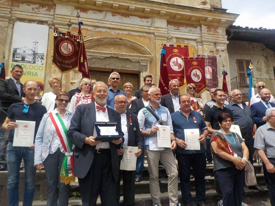 FAVRIA - Festa della Fidas per i suoi volontari - FOTO