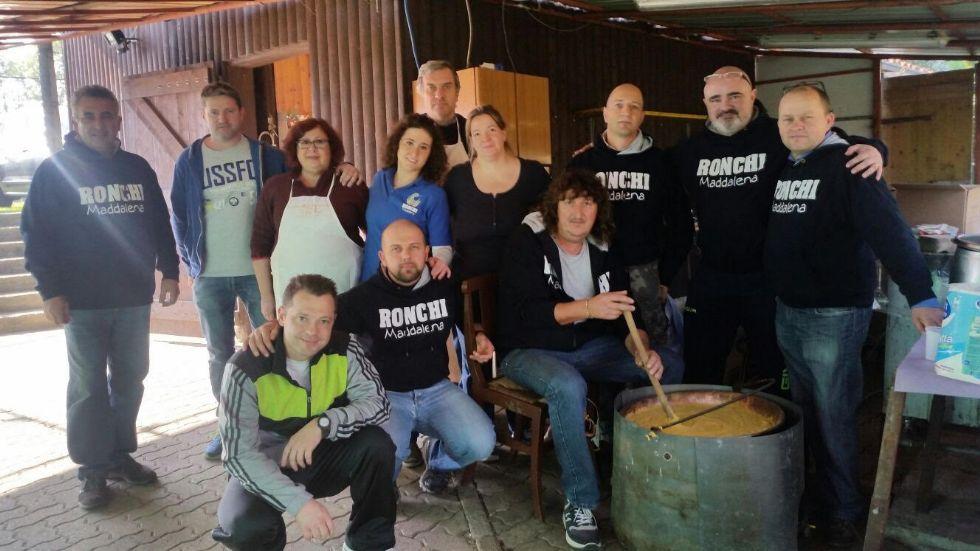 CUORGNE' - Ottima partecipazione alla castagnata dei Ronchi Maddalena