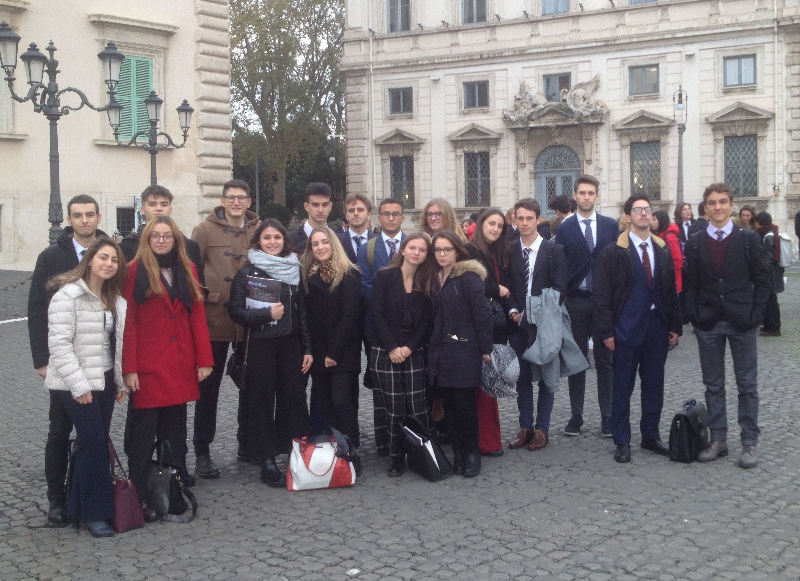 IVREA - Ambasciatori della legalità: studenti del Gramsci a Roma