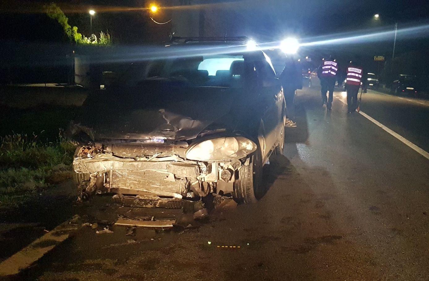 OZEGNA-SAN GIORGIO - Incidente stradale, due feriti - FOTO
