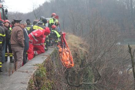 VIDRACCO - Muore dopo un volo di 90 metri - FOTO e VIDEO