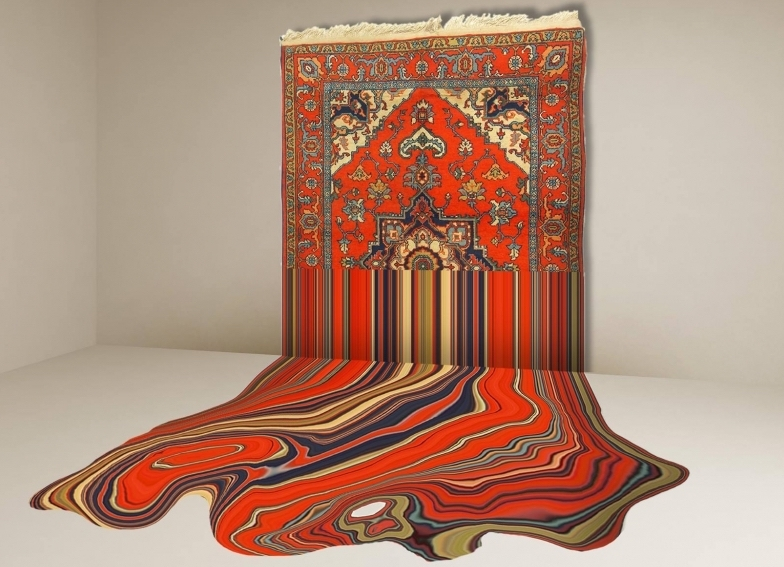 ARTE - I tappeti liquefatti di Faig Ahmed
