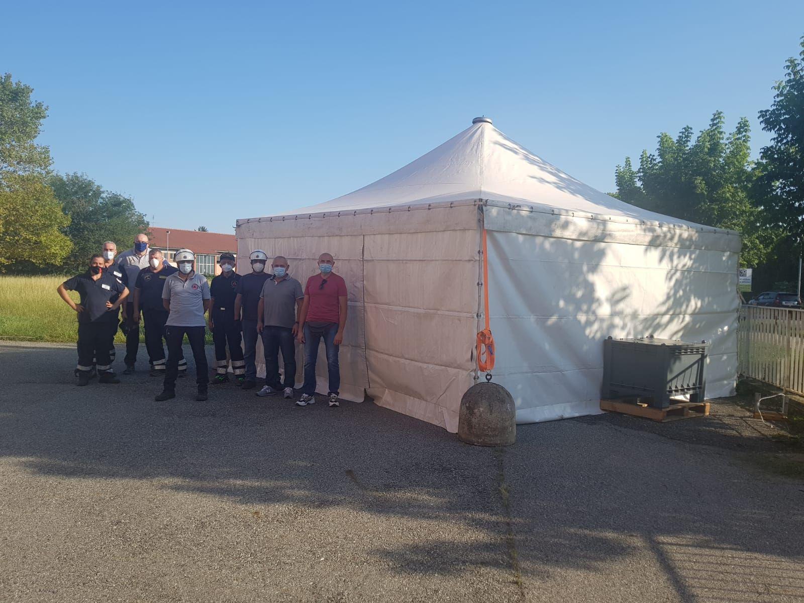 CANAVESE - Tamponi per gli studenti: operative le tende dell'Asl To4 a Castellamonte, Lanzo e Settimo