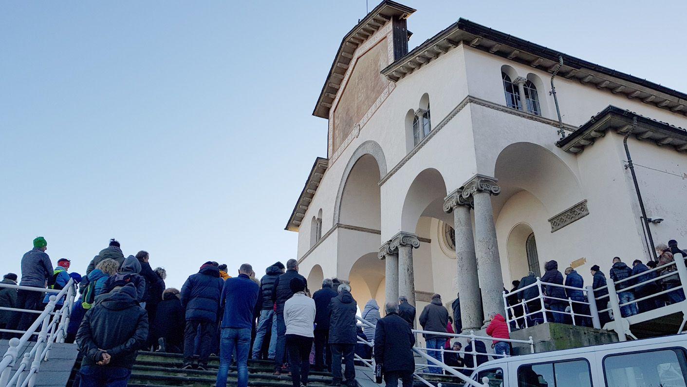 BELMONTE - «Avviate trattative per definire i termini di una cessione del Santuario a privati»