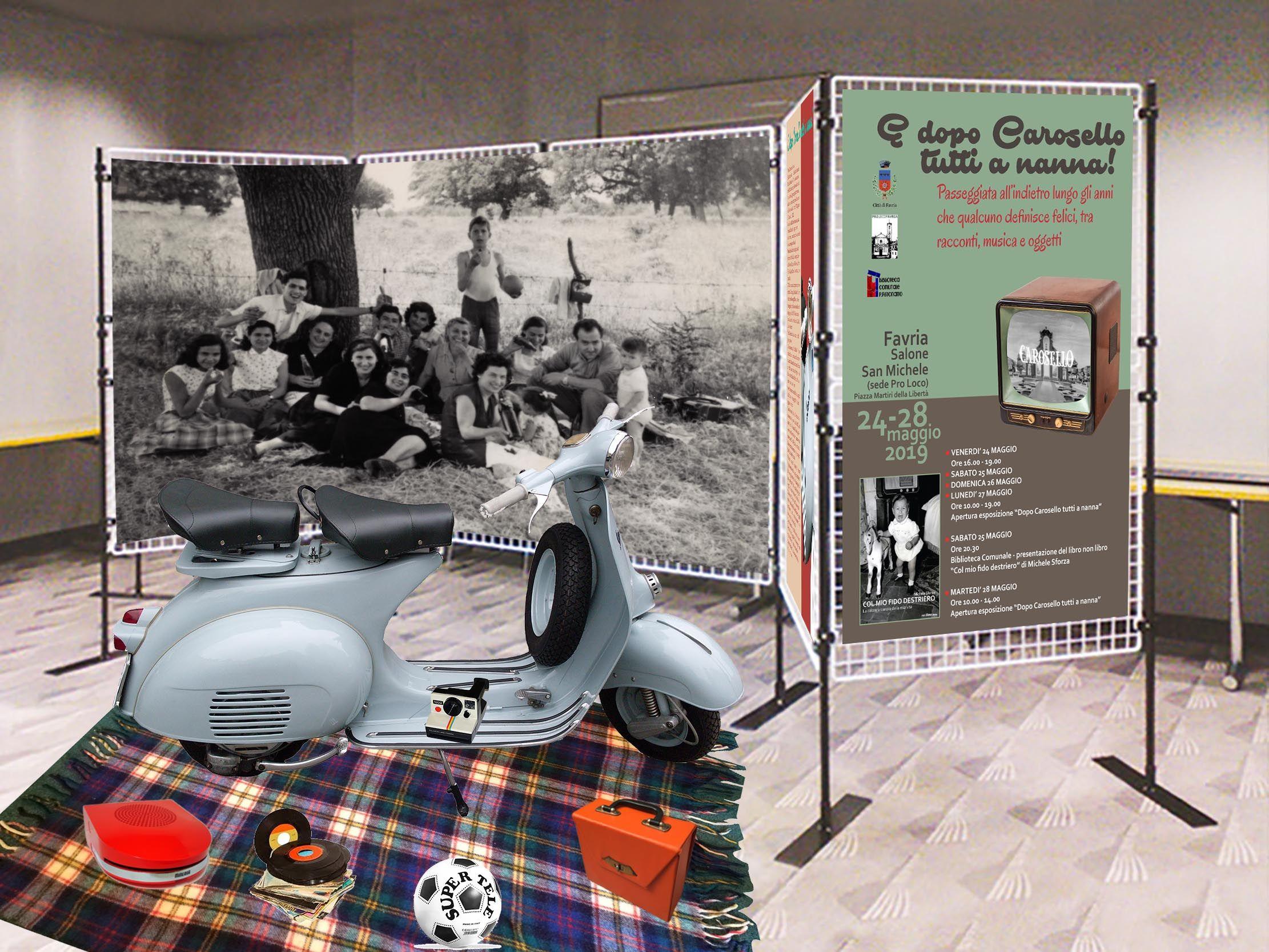FAVRIA - Arriva la mostra «E dopo Carosello tutti a nanna» - FOTO