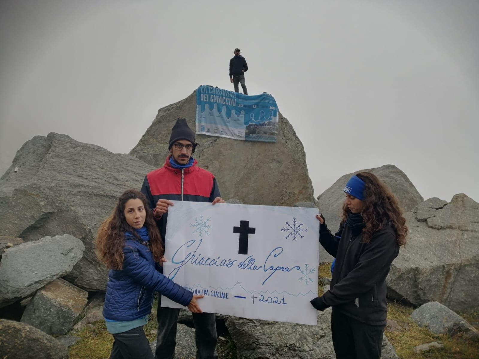 CERESOLE REALE - I ghiacciai del Gran Paradiso rischiano di sparire a causa del riscaldamento globale