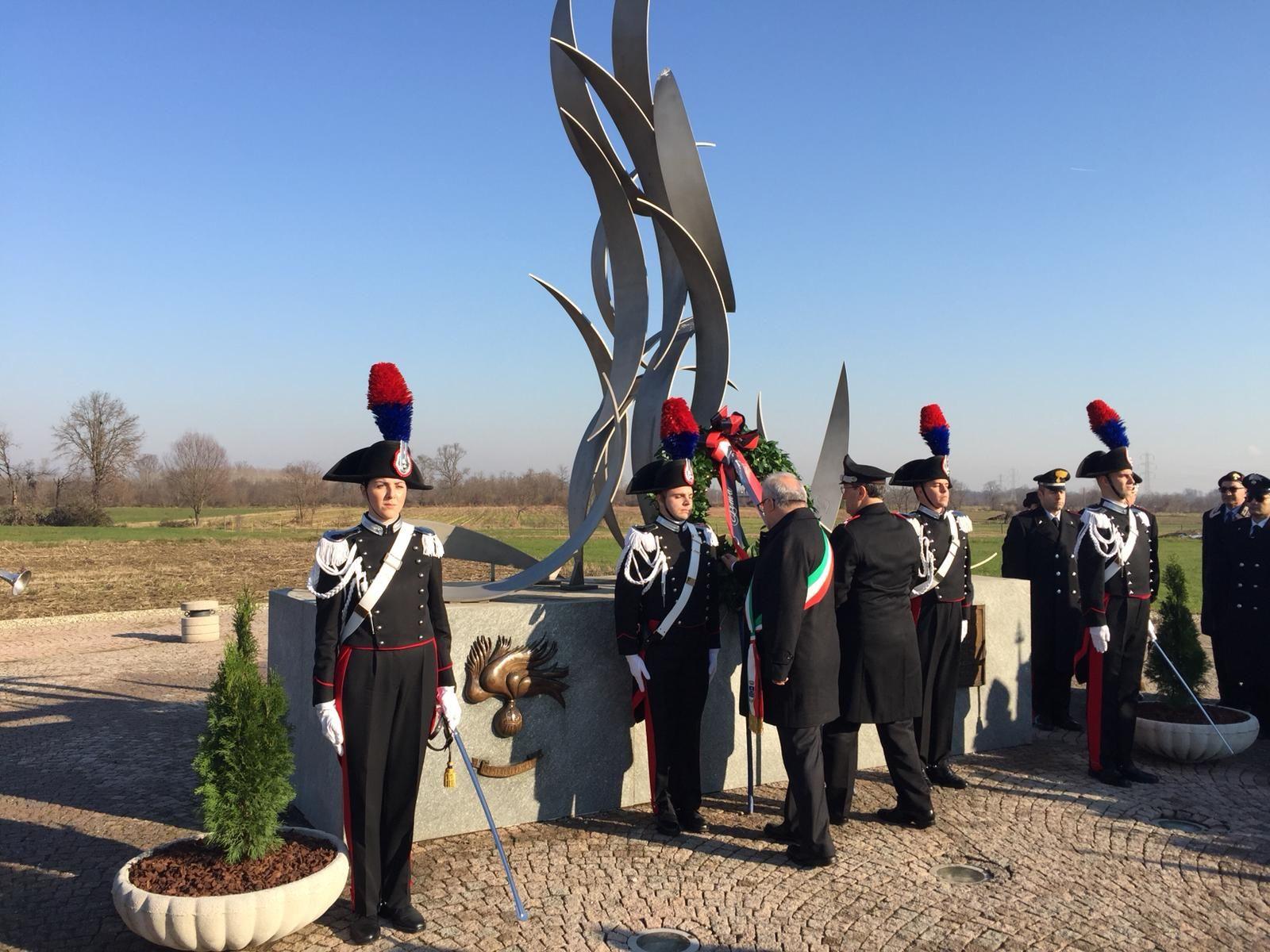 VOLPIANO - Il ricordo dei carabinieri deceduti nell'incidente - VIDEO