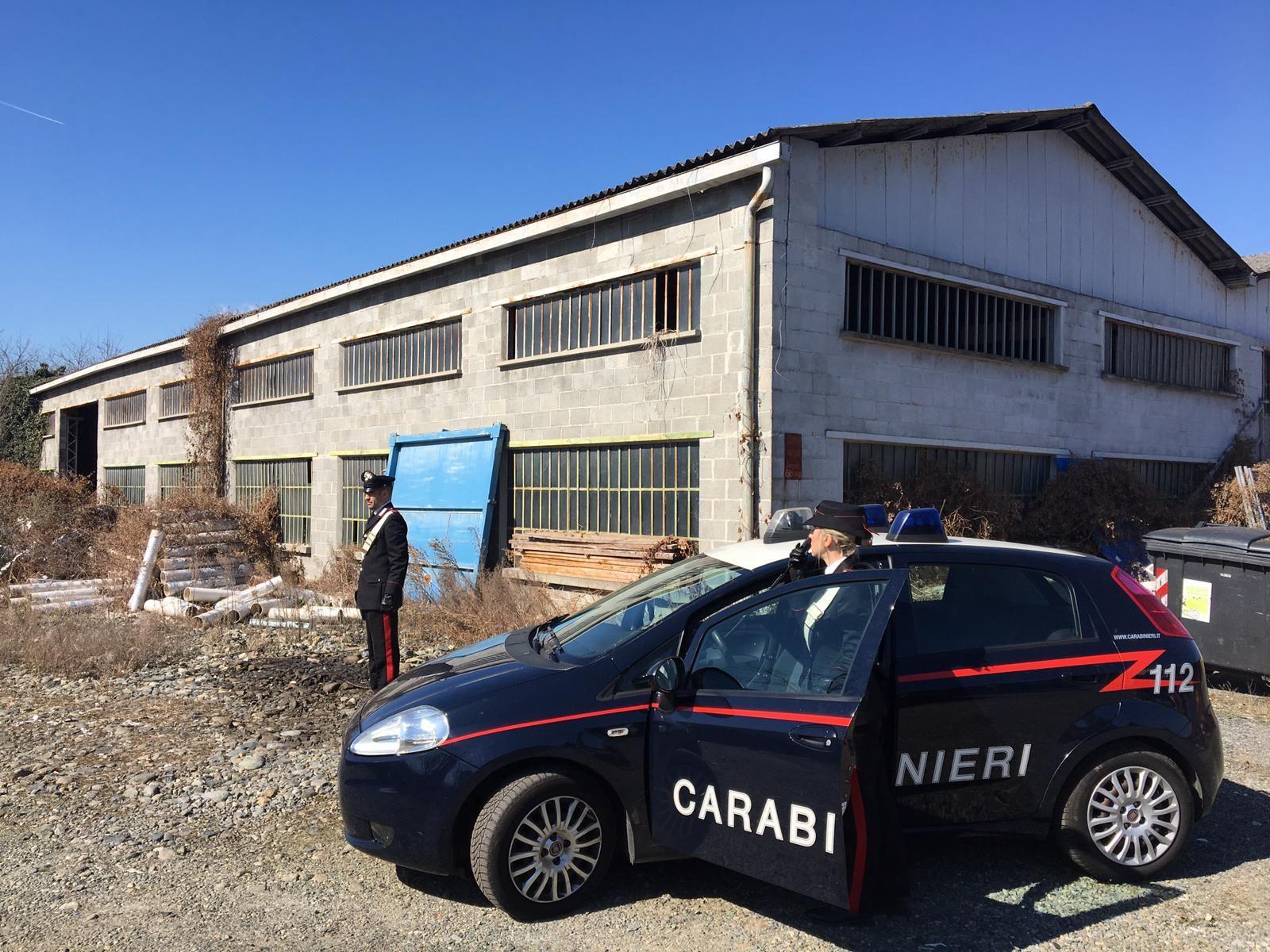 AMBIENTE - Due persone di Agliè denunciate dai carabinieri di Caselle per la gestione illecita di rifiuti pericolosi