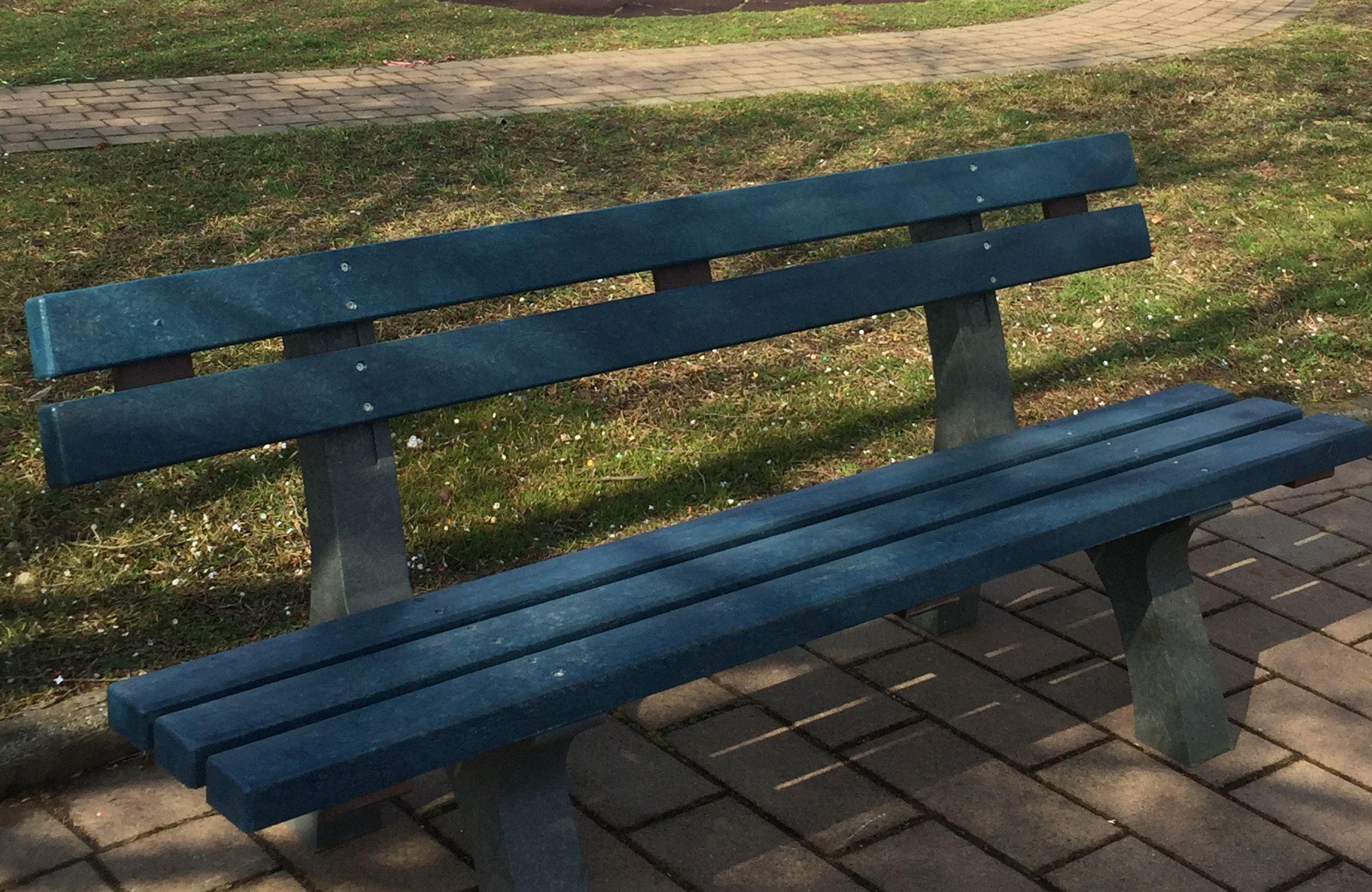 BOLLENGO - Una panchina blu per sensibilizzare sul tema dell'autismo