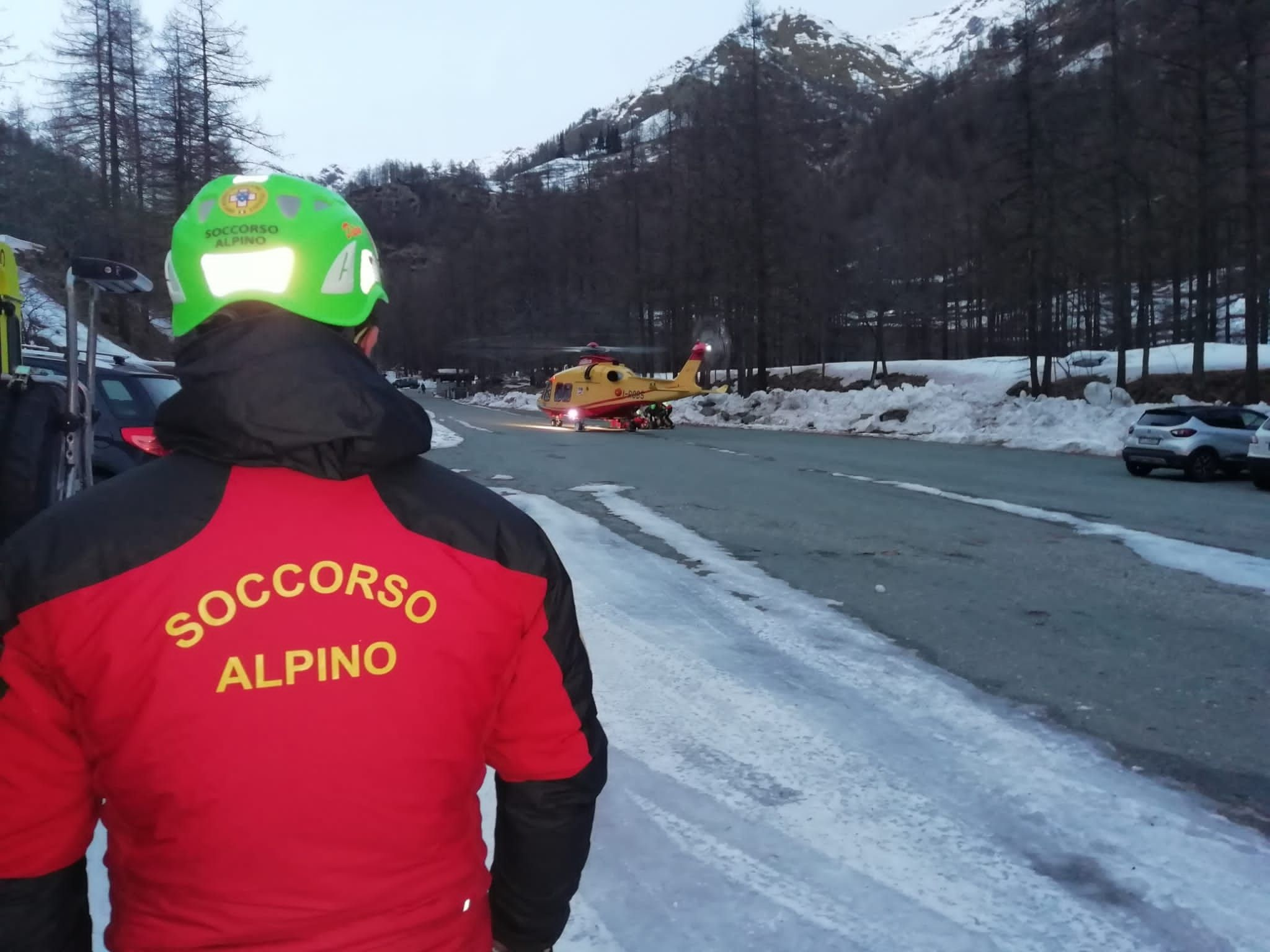 VALPRATO SOANA - 4 escursionisti salvati dal soccorso alpino
