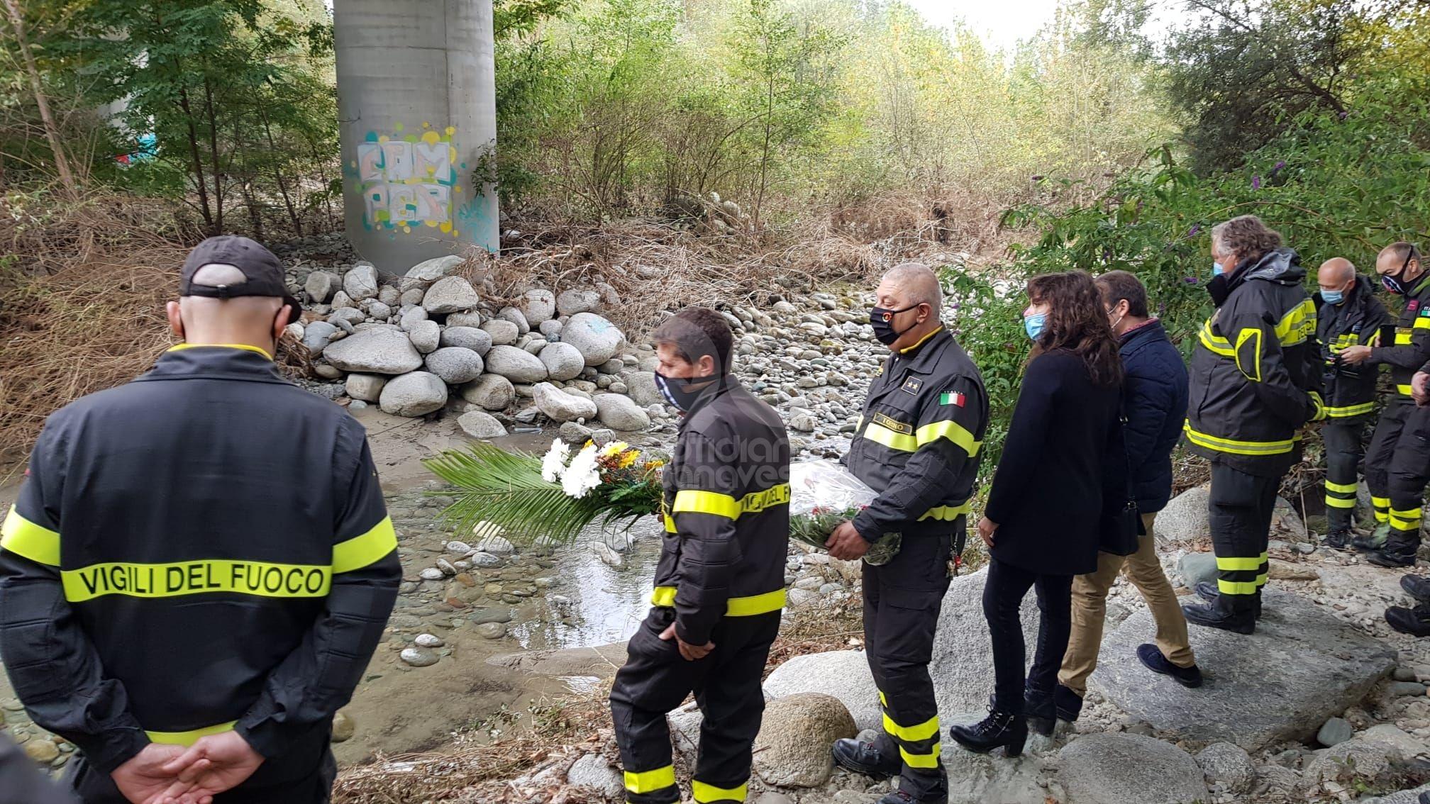 CASTELLAMONTE - Vigile del fuoco perde la vita nell'alluvione: dopo vent'anni è ancora vivo il ricordo di Bartolomeo Califano - FOTO e VIDEO