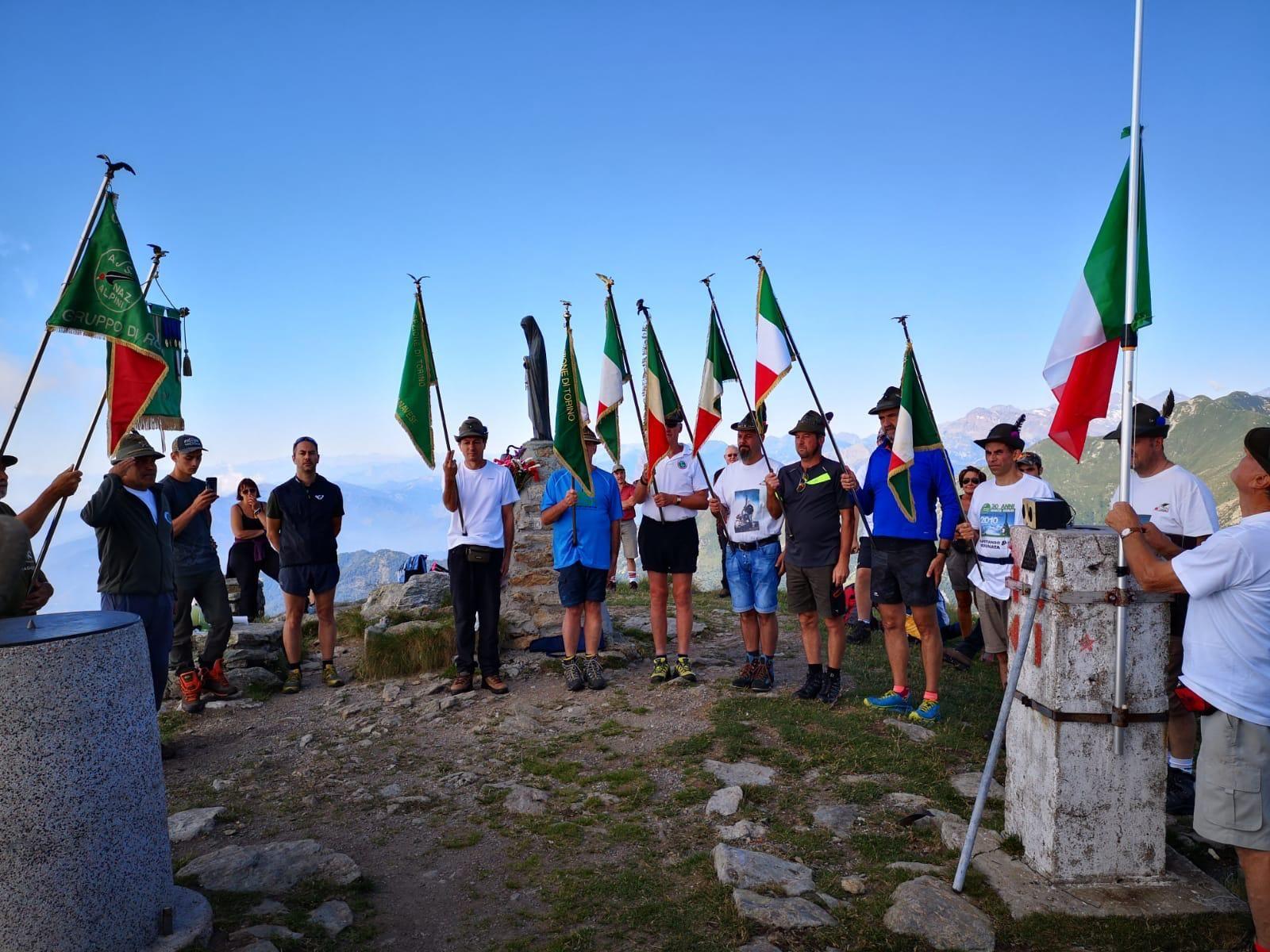 MONTE SOGLIO - Il tradizionale raduno degli Alpini giunto all'edizione numero 39 - FOTO