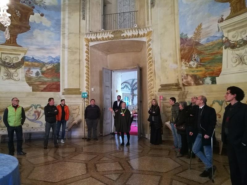 CASTELLO DI MASINO - Presentata ufficialmente la partnership tra il FAI e il Consorzio degli operatori turistici Valli del Canavese