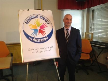 ELEZIONI RIVAROLO - Rostagno presenta logo e nome della lista