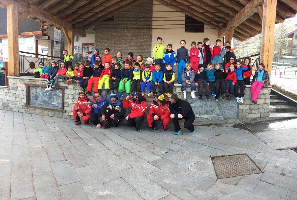 SCI - Successo per la gara sociale dello sci club Valperga-Pertusio - FOTO