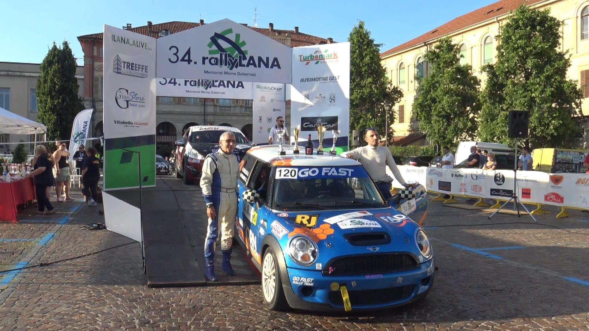 FORNO CANAVESE - Esordio al Rally della Lana e vittoria di classe e categoria per Gabriele Priante