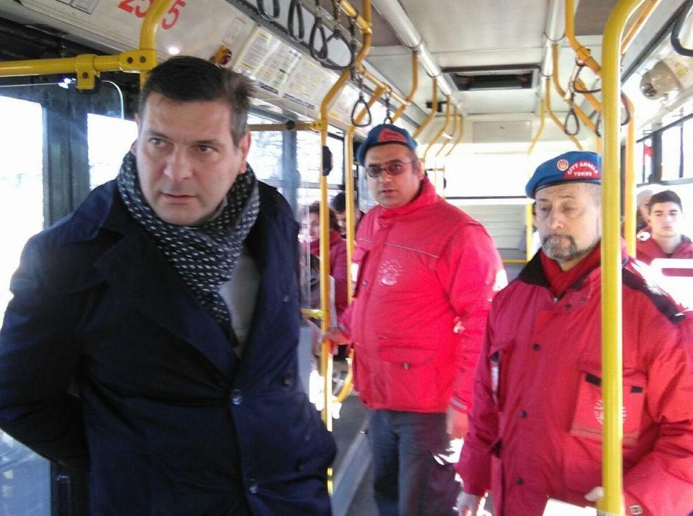 BORGARO - Anche il sindaco sale sul 69 insieme ai «City Angels»