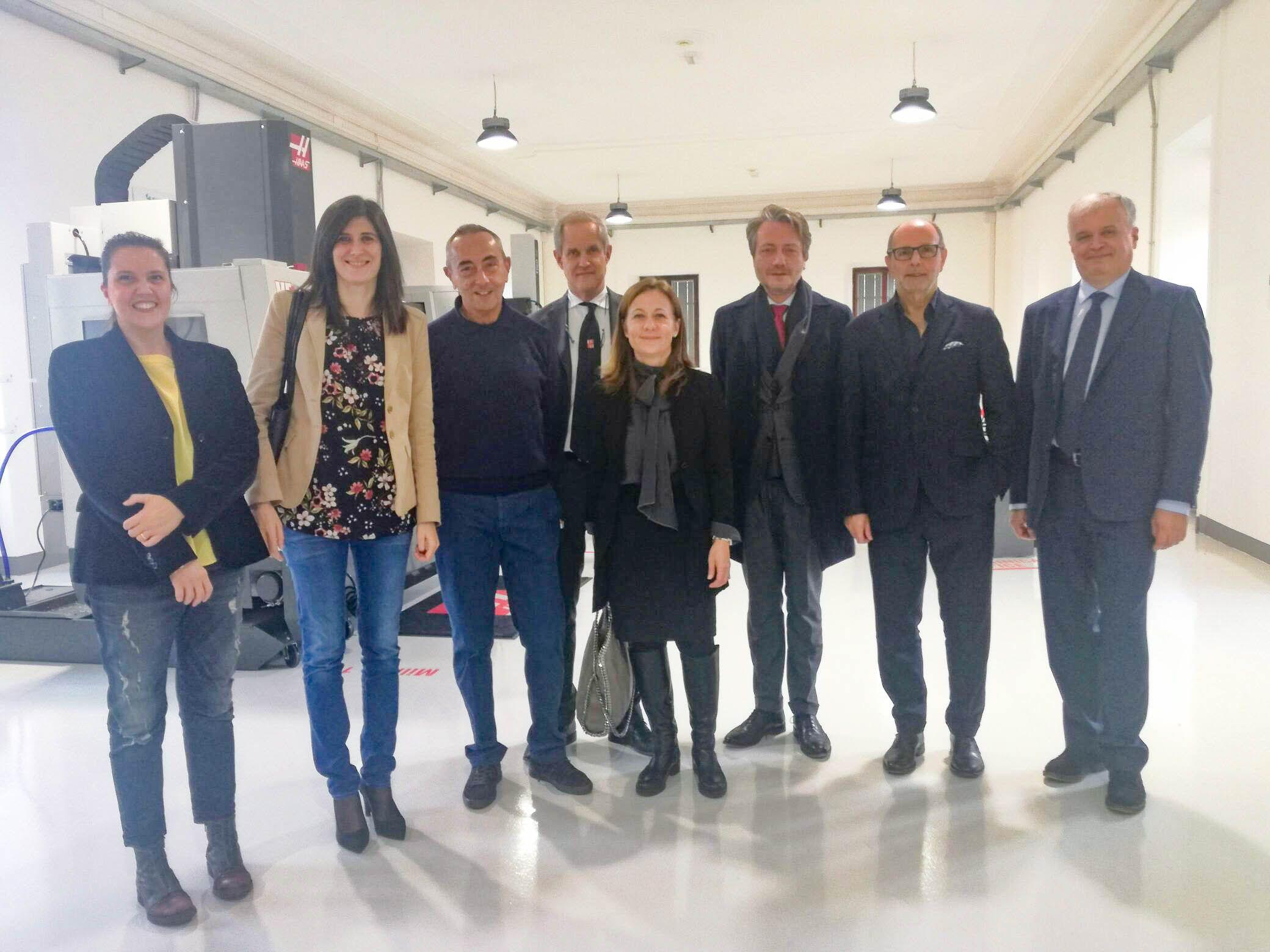 IVREA - La sindaca Appendino in visita alla sede del Ciac