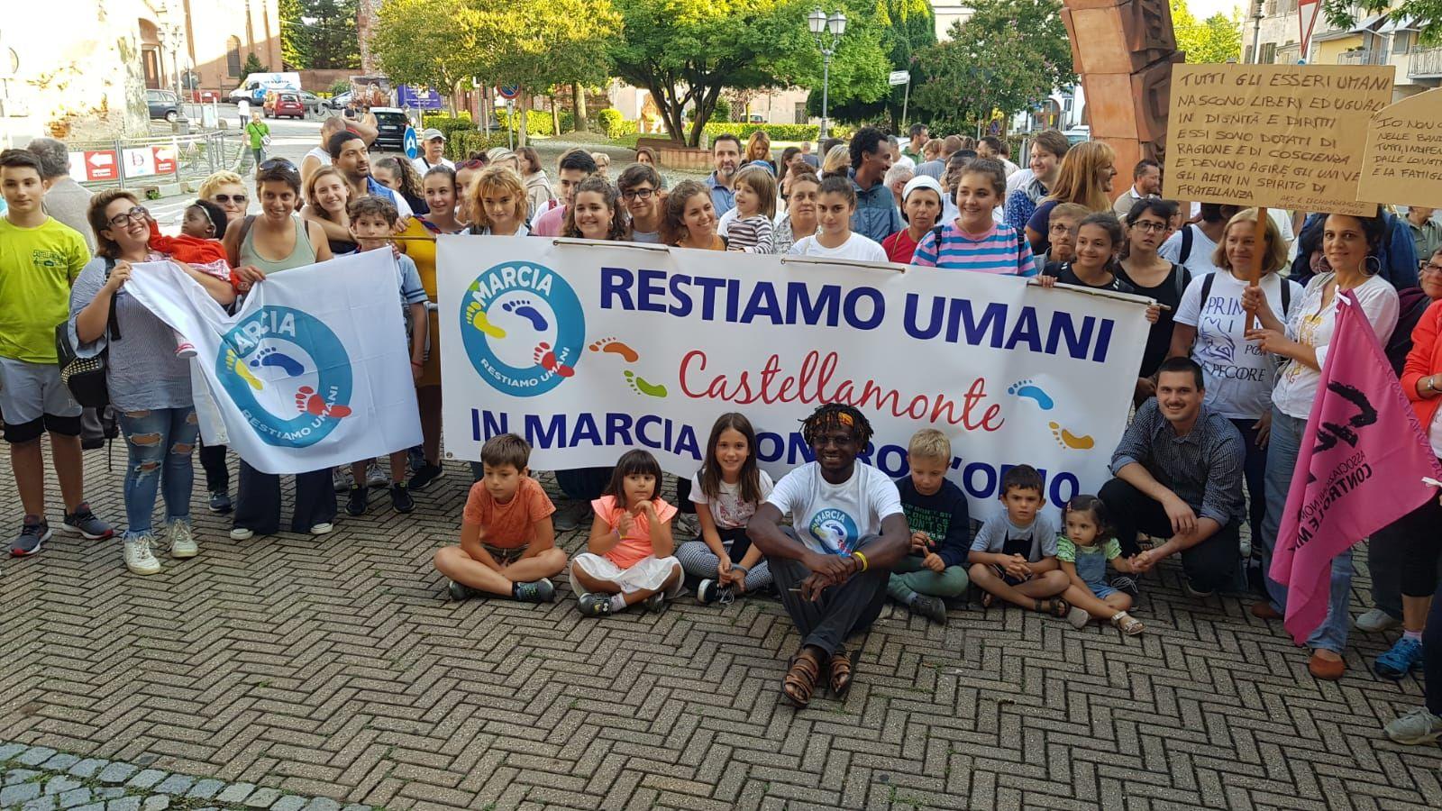 CASTELLAMONTE - In piazza con John Mpaliza per i diritti di tutti