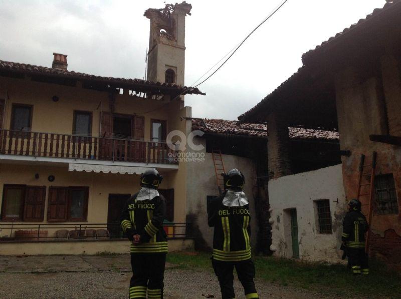 VALPERGA - Crolla il campanile, famiglia perde la casa: diocesi di Torino e parrocchia condannati al risarcimento dei danni