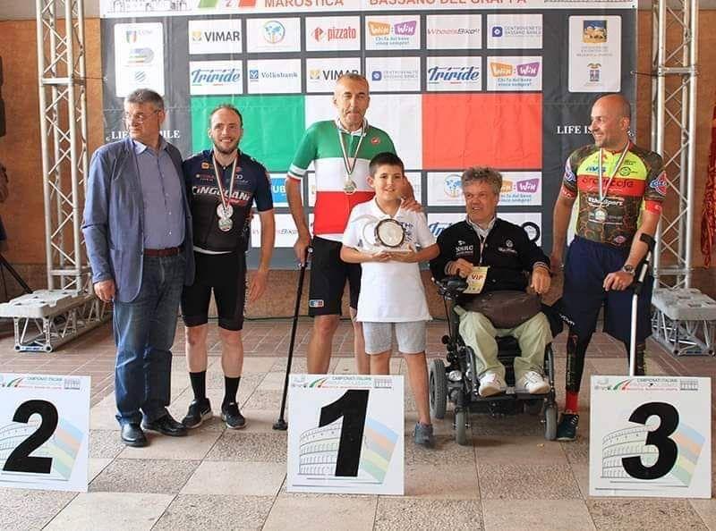 RIVAROLO - Livio Raggino vince ancora: suo il campionato italiano 2019 di paraciclismo - FOTO