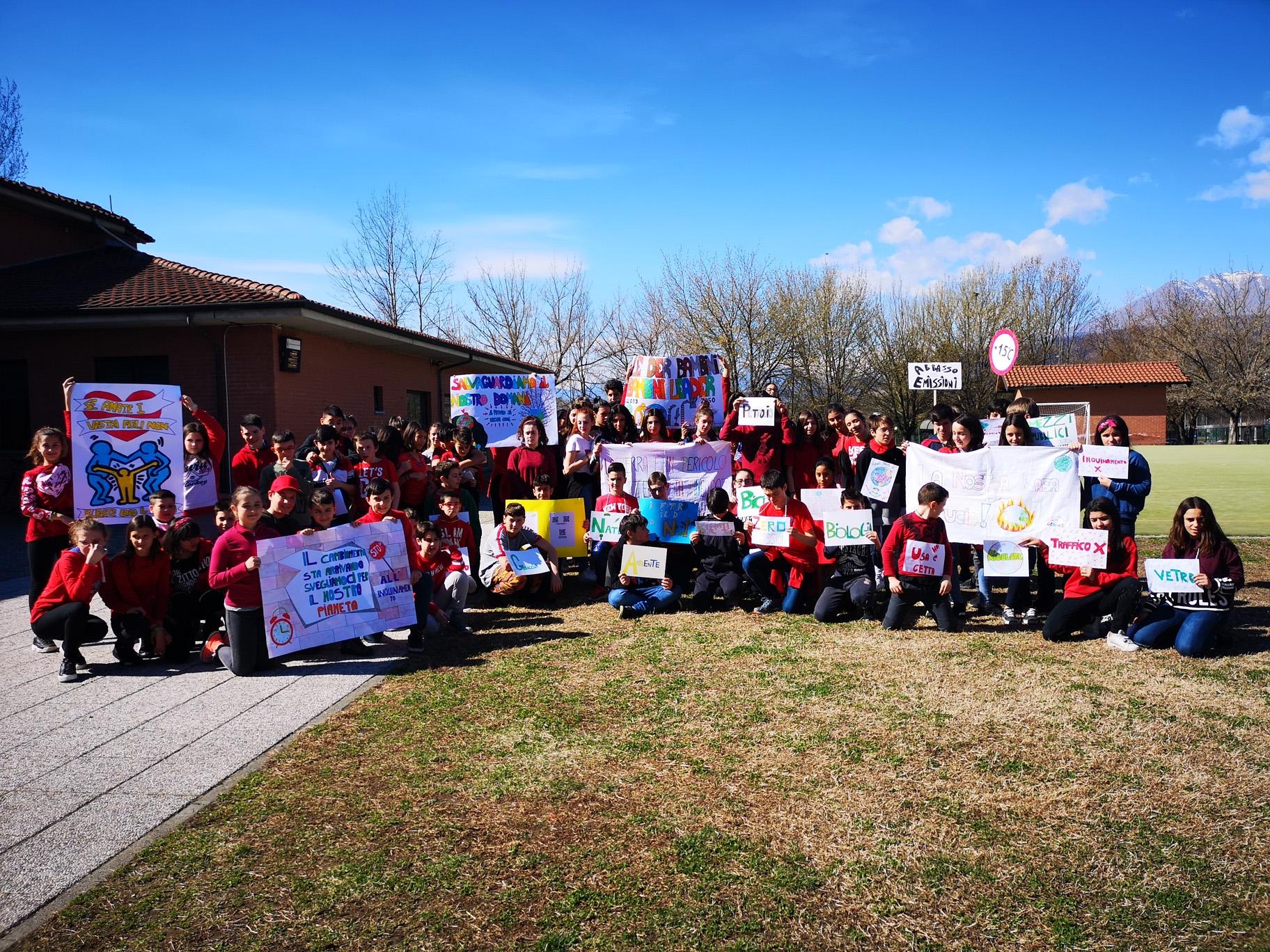CANAVESE - Bambini e ragazzi in piazza per il «Fridays for future»: più rispetto per l'ambiente e il pianeta - FOTO E VIDEO