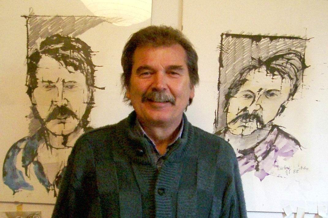 LEINI - Città in lutto per l'addio all'artista Michele Privileggi