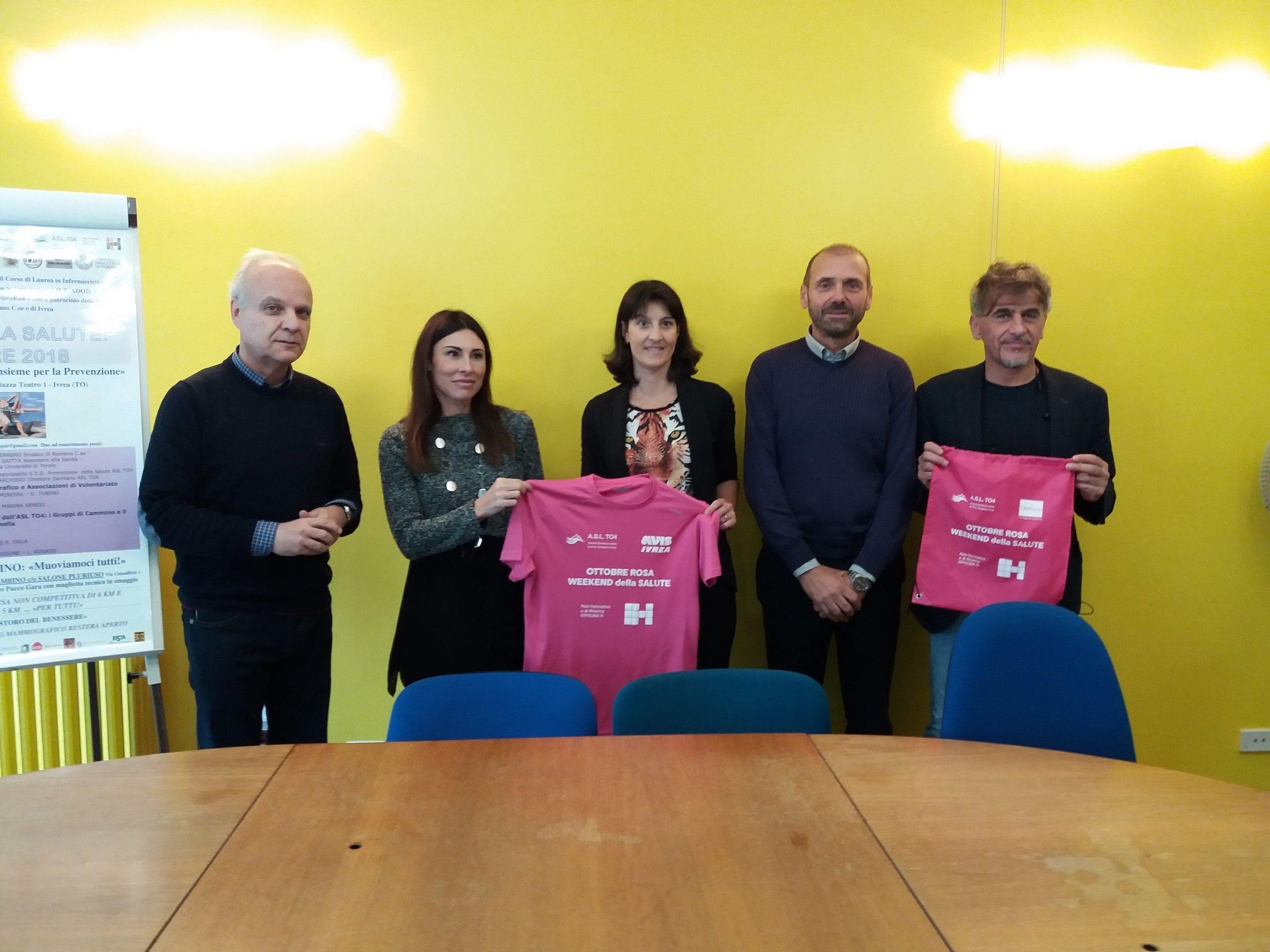 IVREA-STRAMBINO - Prevenzione tumore al seno: weekend di eventi