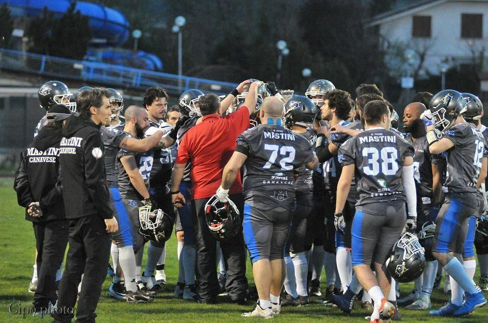 FOOTBALL AMERICANO - Sconfitta a Reggio Emilia per i Mastini: ora sotto con i Warriors Bologna