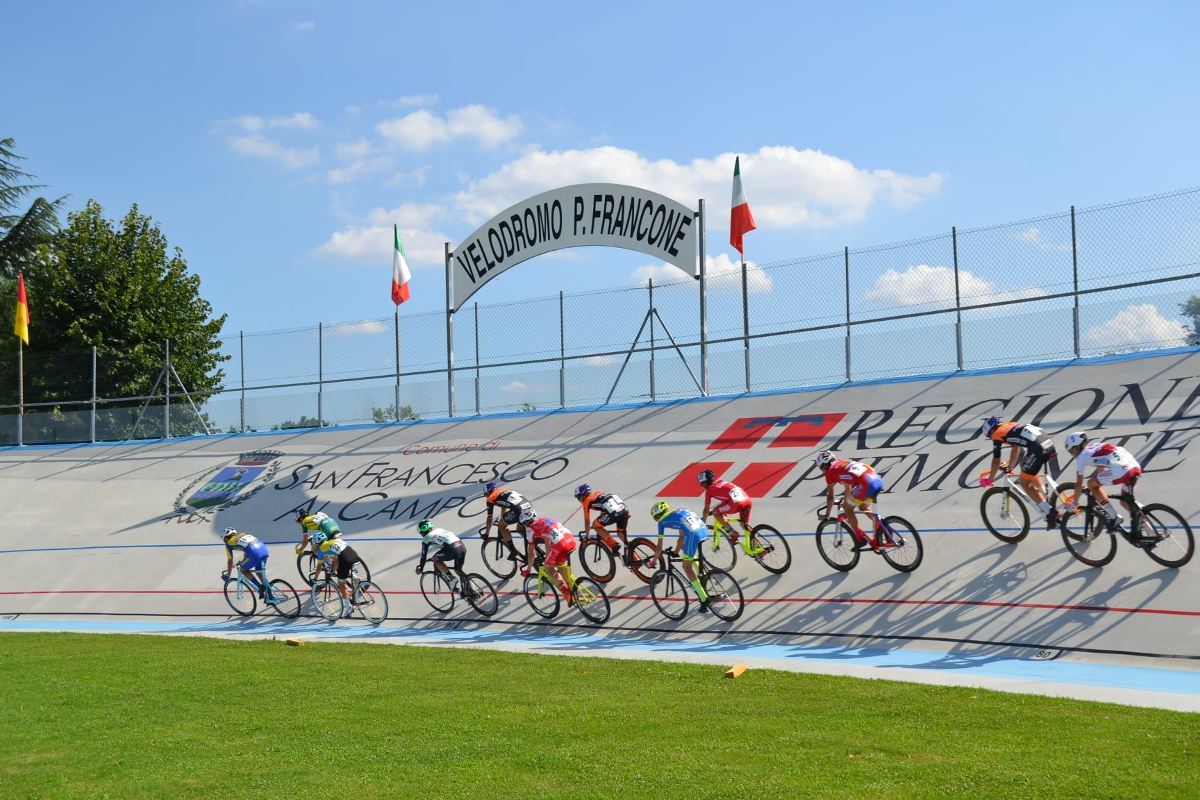SAN FRANCESCO AL CAMPO - Al Velodromo Francone i Campionati italiani Paralimpici di ciclismo su pista