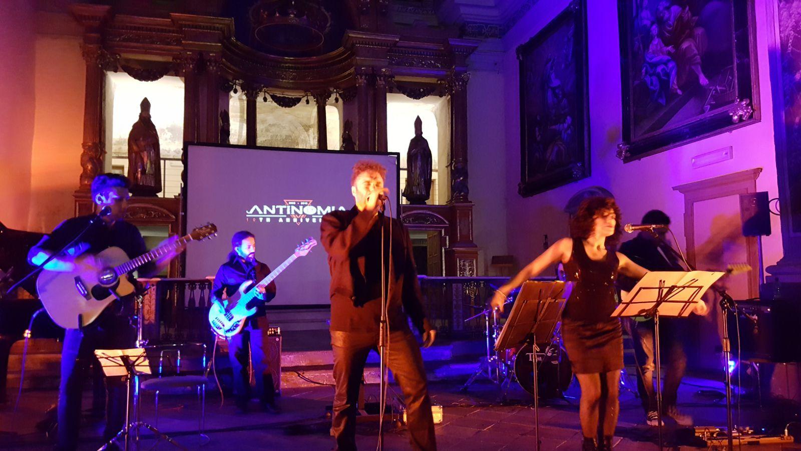 CUORGNE' - Gli Antinomia hanno festeggiato i primi dieci anni di musica - FOTO e VIDEO