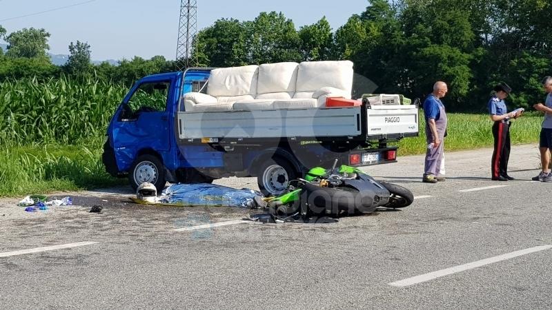 SAN BENIGNO - Tragedia sulla provinciale: muore giovane motociclista di Volpiano