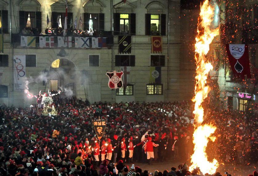 IVREA - Il Carnevale in tv: «La Festa dello Scarlo» andrà in onda su RaiStoria