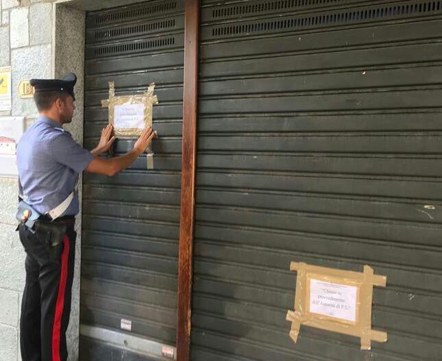 SAN GIUSTO CANAVESE - Troppi clienti pregiudicati: i carabinieri chiudono un bar