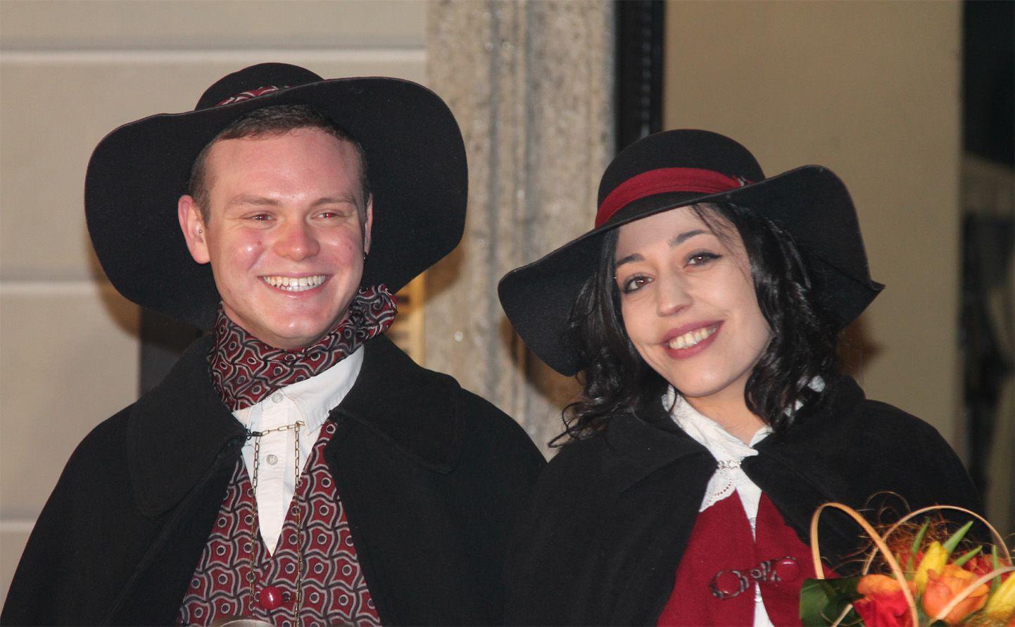 OZEGNA - Tatiana e Riccardo sono i Gavason 2020 del carnevale - FOTO e VIDEO