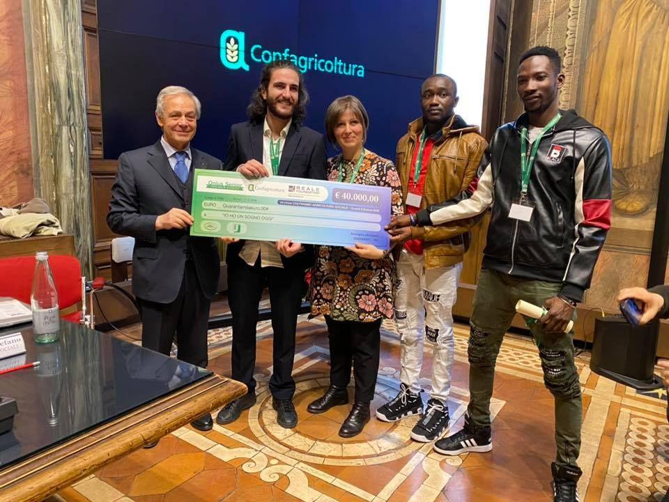 CANAVESE - Il progetto «Io ho un sogno oggi» al primo posto nazionale premiato da Confagricoltura