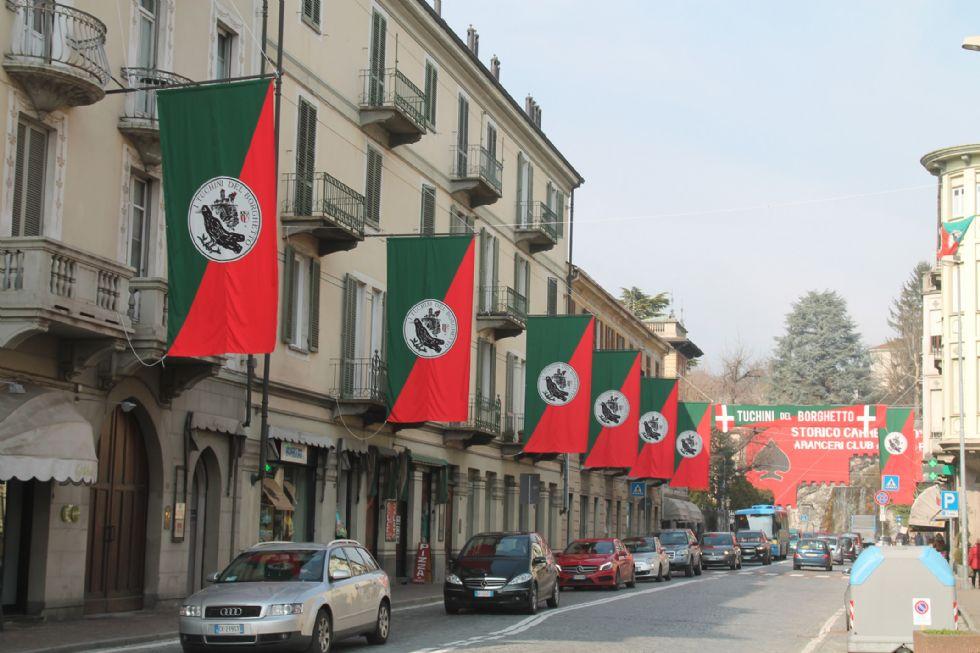 IVREA - La città si colora per lo Storico Carnevale - FOTO