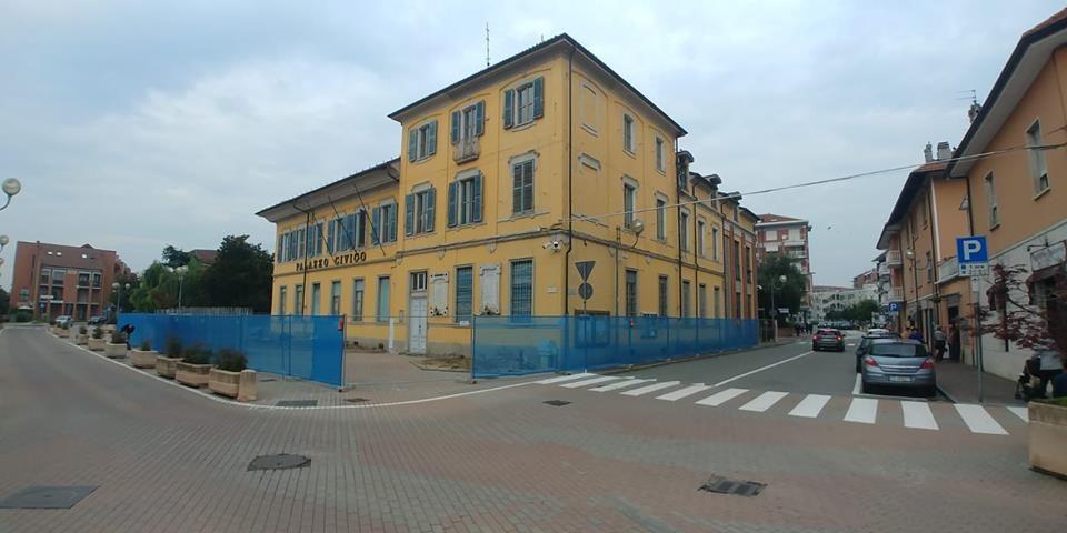 BORGARO - Sono partiti i lavori per il restyling di palazzo civico
