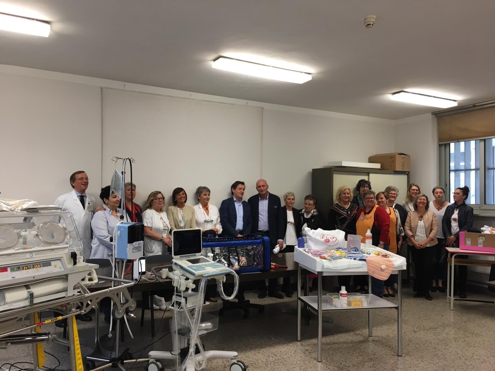 CIRIE' - Alla pediatria i doni dell'associazione «Ospedale Dolce Casa»