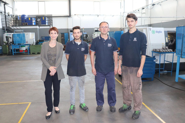VALPERGA - Gli allievi di meccanica e automazione del Ciac tra i primi a trovare lavoro