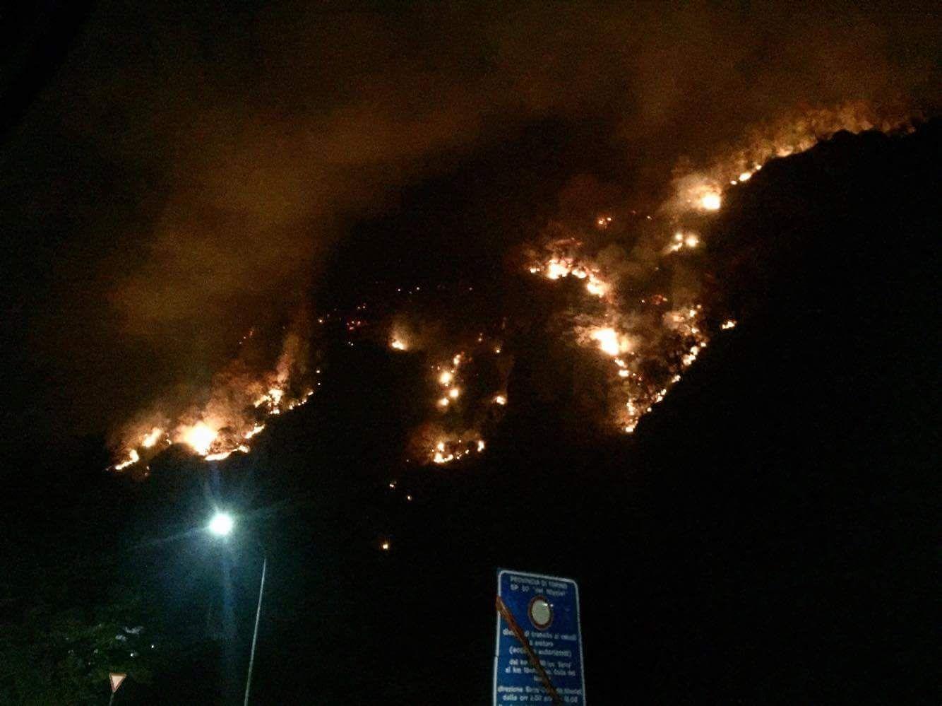 CANAVESE - Ad un anno dagli incendi una mostra a Torino - VIDEO
