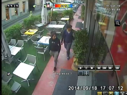 RIVAROLO CANAVESE - Furto al ristorante: le immagini dei ladri su Facebook - FOTO
