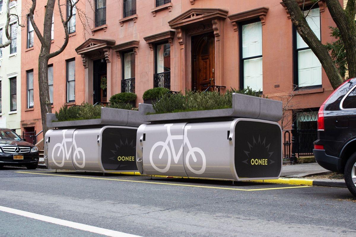IDEE - Le mini-rimesse cittadine per biciclette