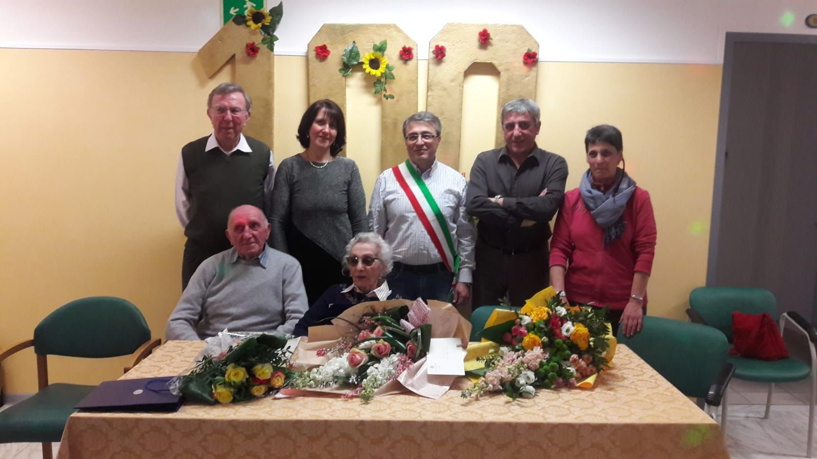 CASTELLAMONTE - Grande festa per i 100 anni della signora Tina