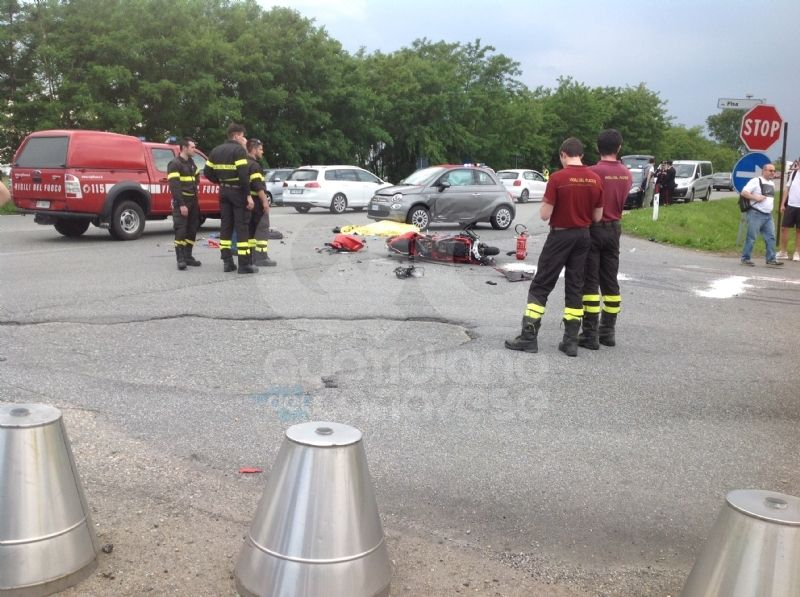 VOLPIANO - Muore a soli 26 anni in un tragico incidente stradale - FOTO e VIDEO