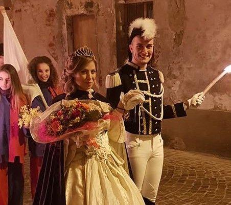 SAN GIORGIO - Nicolas e Cristina sono Generale e Castellana del Carnevale 2020