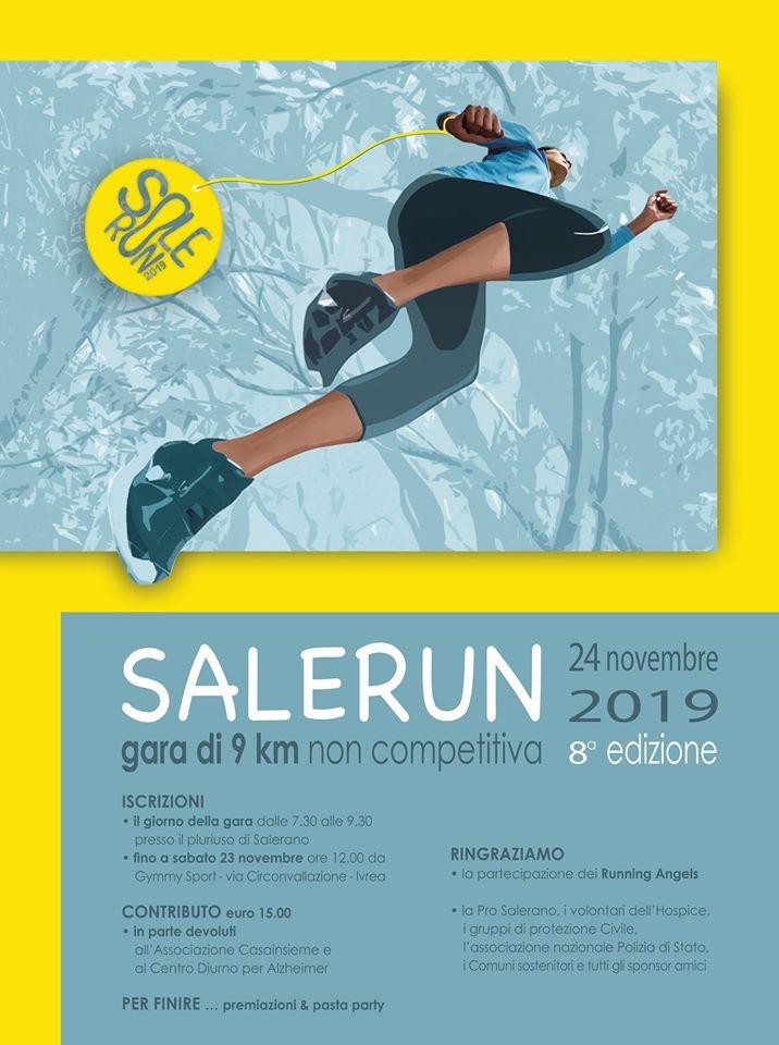 SALERANO - SaleRun, la corsa solidale che dice No alla Violenza